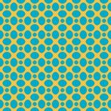 Wektorowy bezszwowy wzór abstrakcjonistyczni geometryczni kamienie ilustracja wektor