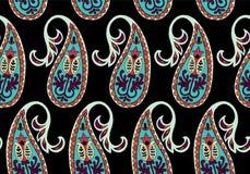 Wektorowy bezszwowy wzór dla projekta szablonu Rocznika ozdobny wystrój Wschodni stylowy element Luksusowa orientalna dekoracja Obrazy Stock