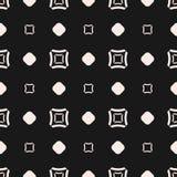 Wektorowy bezszwowy wzór, geometryczna tekstura z kwadratami ilustracji