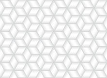 Wektorowy bezszwowy wzór przeplatający zespoły biała tekstura Zdjęcie Stock