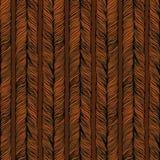Wektorowy Bezszwowy wzór składał się plecenie hairball ilustracji