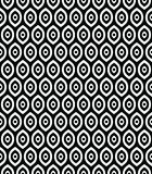 Wektorowy bezszwowy wzór w Arabskim stylu Abstrakcjonistyczne graficzne faliste linie, delikatna kratownica Zdjęcia Royalty Free