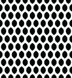 Wektorowy bezszwowy wzór w Arabskim stylu Abstrakcjonistyczny graficzny monochromatyczny tło z cienkimi falistymi liniami, delika Obrazy Stock