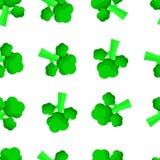 Wektorowy bezszwowy wzór z brokułami E ilustracji