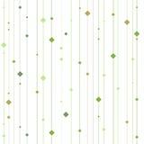 Wektorowy bezszwowy wzór z pionowo lampasami i kwadratami nowożytna elegancka tekstura ilustracji