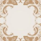 Wektorowy bezszwowy wzór z sztuka ornamentem dla projekta Obrazy Royalty Free