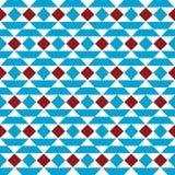 Wektorowy bezszwowy wzór z trójbokami Zdjęcia Royalty Free