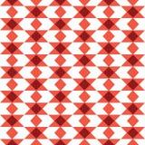 Wektorowy bezszwowy wzór z trójbokami Obrazy Royalty Free