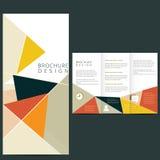 Wektorowy broszurka układ Zdjęcie Royalty Free