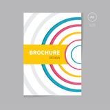 Wektorowy broszurki ulotki szablonu projekt Obraz Royalty Free