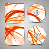 Wektorowy cd pokrywy set dla twój projekta Fotografia Royalty Free