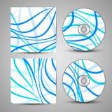Wektorowy cd pokrywy set dla twój projekta Zdjęcie Royalty Free