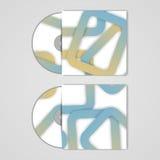 Wektorowy cd pokrywy set dla twój projekta Obraz Royalty Free