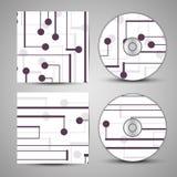Wektorowy cd pokrywy set dla twój projekta Zdjęcia Stock