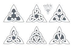 Wektorowy celta trinity kępki część 2 ornament etniczne Geometryczny de Zdjęcia Royalty Free
