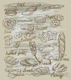 Wektorowy chleb ilustracji
