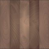 Wektorowy ciemnego brązu drewniany tło lub tekstura Royalty Ilustracja