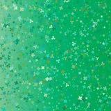 Wektorowy confetti tła wzór bell świątecznej element projektu Koniczyna le Obrazy Stock
