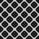 Wektorowy Czarny I Biały bezszwowy deseniowy projekt Zdjęcie Stock