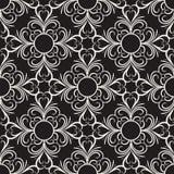 Wektorowy dekoracyjny kwiecisty bezszwowy wzór Obraz Royalty Free