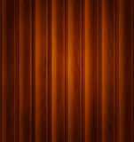 Wektorowy drewniany tło ciemnego brązu drewniane deski (tekstura) Obrazy Royalty Free