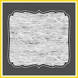 Wektorowy Drewniany tło Obrazy Stock