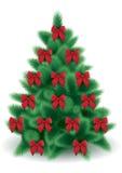 wektorowy drzewa xmas Obrazy Royalty Free