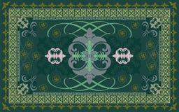 Wektorowy dywanu wzór Obraz Stock