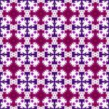 Wektorowy fiołek, purpury i czereśniowy bezszwowy ornament, royalty ilustracja