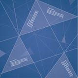 Wektorowy futurystyczny szablon. Kolorowy tło. Obraz Stock