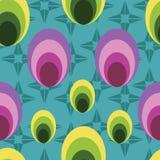Wektorowy geometrical bezszwowy deseniowy tło ilustracji