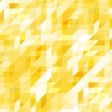 Wektorowy geometryczny abstrakcjonistyczny tło z trójbokami Fotografia Royalty Free