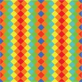 Wektorowy geometryczny abstrakcjonistyczny tło z trójbokami ilustracja wektor