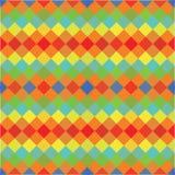 Wektorowy geometryczny abstrakcjonistyczny tło z trójbokami royalty ilustracja