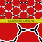 Wektorowy geometryczny bezszwowy wzór Obrazy Royalty Free