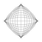 Wektorowy geometryczny tło Obrazy Stock