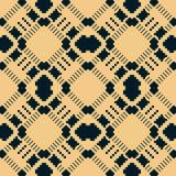 Wektorowy geometryczny tradycyjny ludowy ornament abstrakta bezszwowy wzoru Etniczny motyw ilustracji