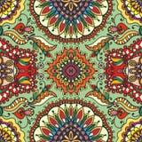 Wektorowy geometryczny wzór z bezszwową teksturą zdjęcia royalty free