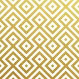 Wektorowy geometryczny złoto wzór Zdjęcia Stock