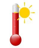 Wektorowy gorący symbol Zdjęcie Royalty Free