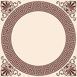 Wektorowy Grecki tło royalty ilustracja