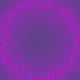 Wektorowy halftone kropkuje tło Ultrafioletowe kropki na białym tle ilustracja wektor