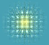 Wektorowy halftone słońce ilustracja wektor