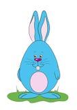 Wektorowy ilustracyjny Wielkanocny królik Obrazy Stock