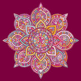 Wektorowy indyjski mandala Fotografia Stock