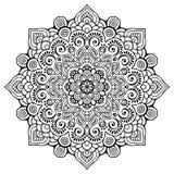 Wektorowy indyjski mandala Fotografia Royalty Free
