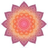 Wektorowy indyjski mandala Zdjęcie Royalty Free