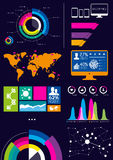 Wektorowy Infographics Zdjęcia Stock
