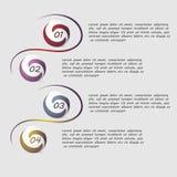 Wektorowy infographics Obrazy Stock