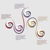 Wektorowy infographics Zdjęcia Royalty Free